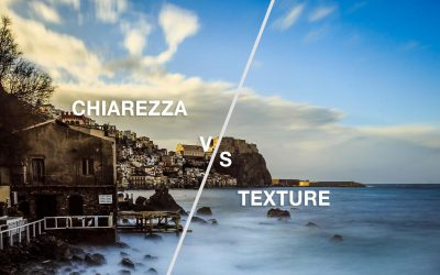 Differenza tra chiarezza e texture in Lightroom
